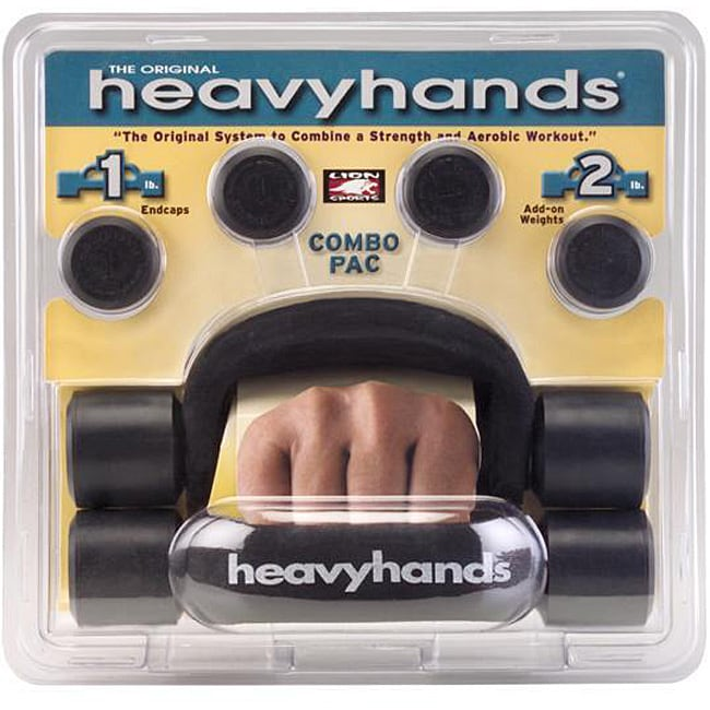 Heavyhands Add-on Weights Combo Pac