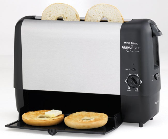 Shop West Bend Quick Serve Toaster Free Shipping Today