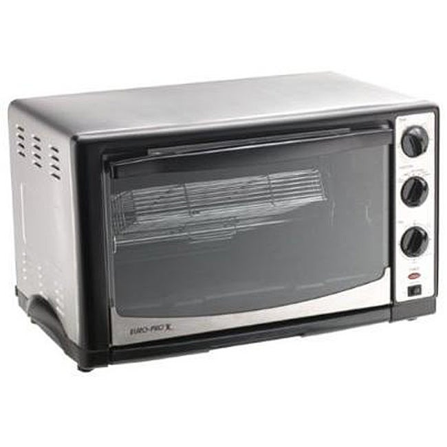 Euro Pro XL Toaster Oven with Rotisserie (Refurbished) - Free Shipping ...
