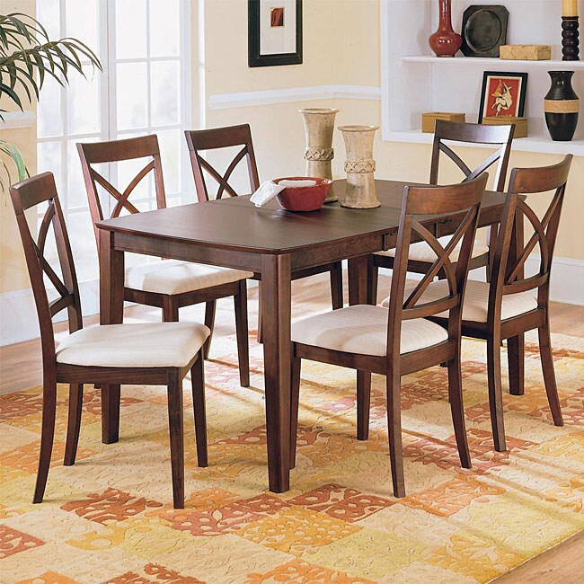 Merlot 7-piece Dining Table/ Chair Set