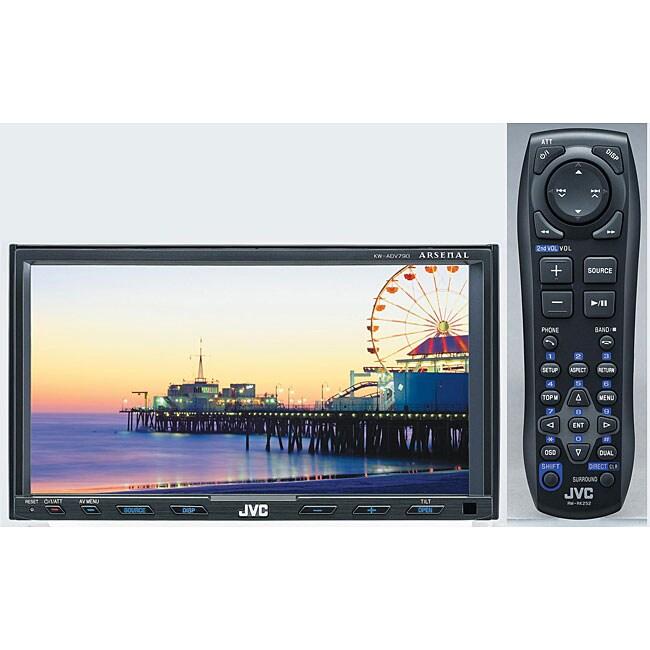 JVC KWADV790 7-inch Monitor DVD/CD/Divx/MP3
