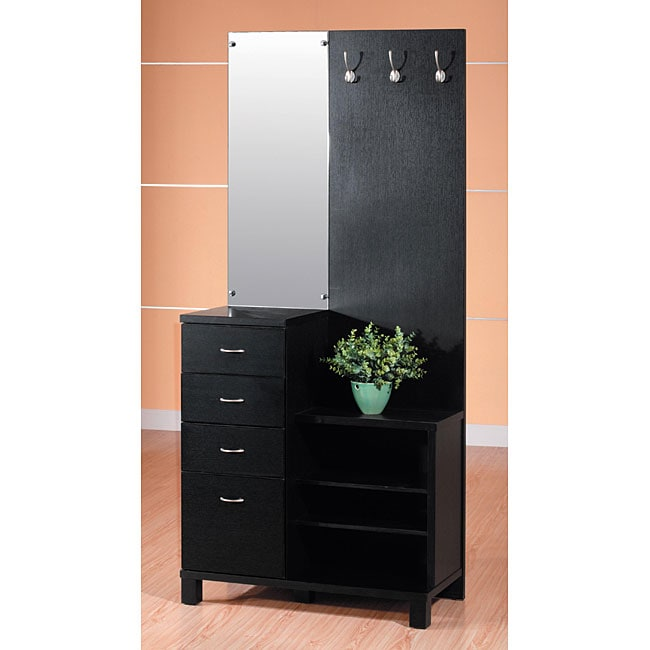 Furniture of america multi functional complete storage for Furniture of america nara contemporary 6 shelf tiered open bookcase