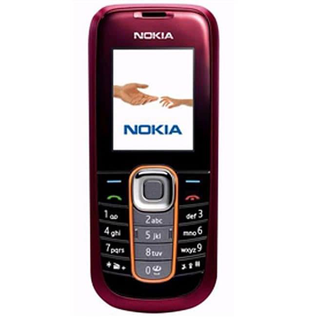 2600 Classic Candybar Red Unlocked GSM Cell Phone