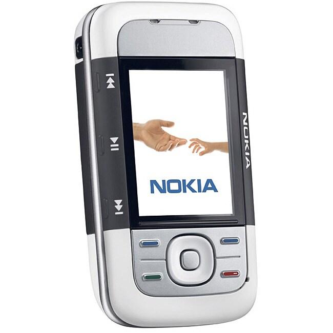 Nokia 5300 Slider Black/ White Unlocked GSM Cell Phone
