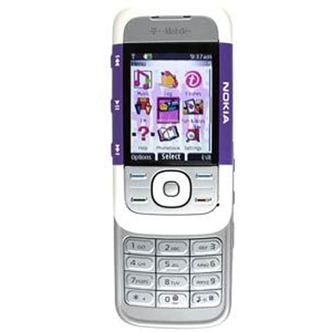 5300 Slider Purple/ White Unlocked GSM Cell Phone