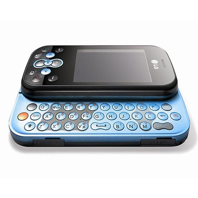 LG KS360 Blue Unlocked GSM Cell Phone