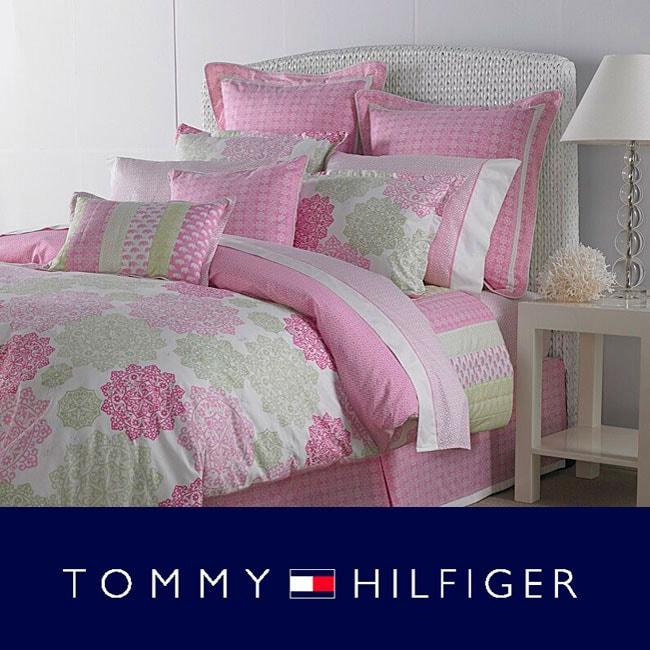 Shop Tommy Hilfiger Hibiscus Hill 4 Piece Comforter Set
