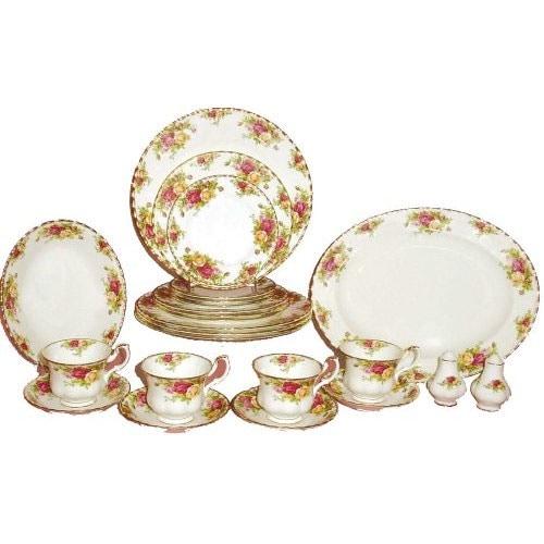 Royal Albert Old Country Rose 24-piece Dinnerware Set
