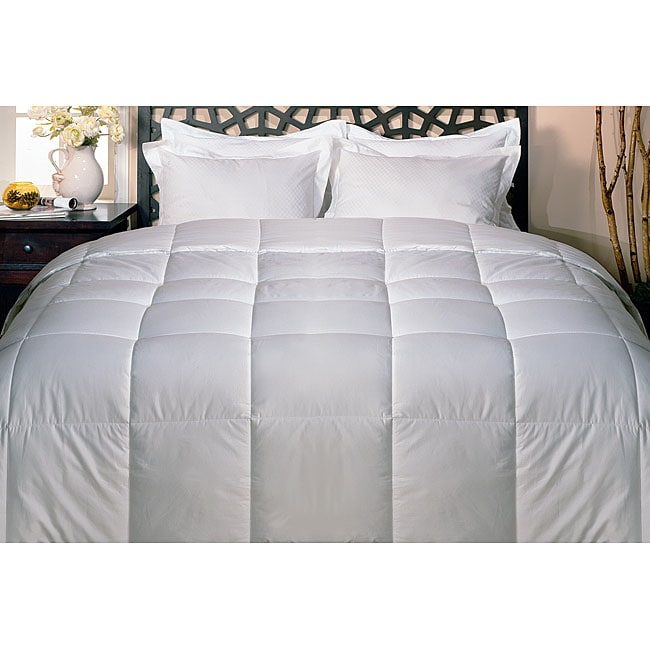 White 250 Thread Count Down Alternative Comforter
