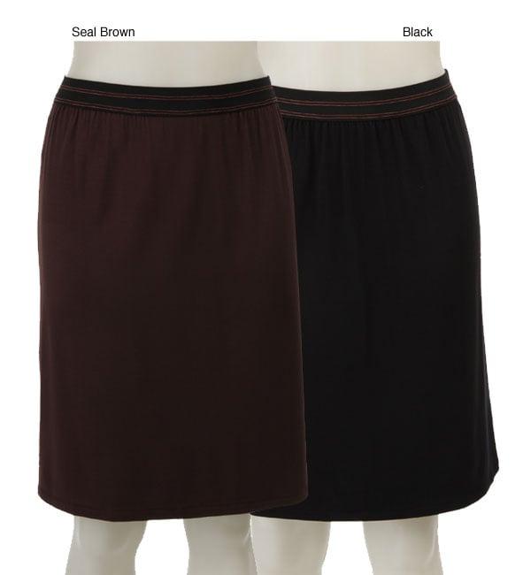 AtoZ Women's Slip Skirt