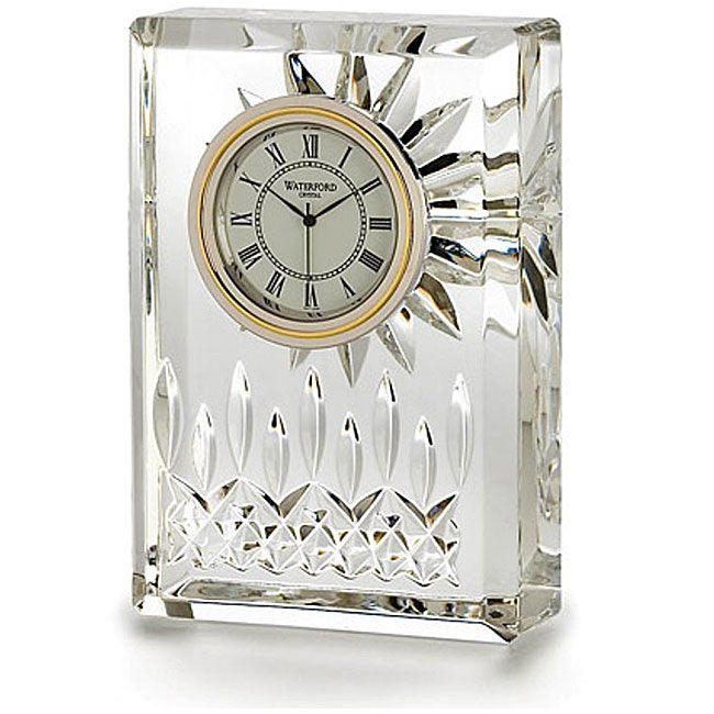 Lismore Clear 4.5-inch Clock