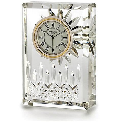 Lismore Clear 4.5-inch Clock