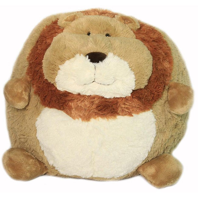 American Mills 7-inch Round Plush 'Lion' Pillow