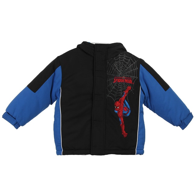 Marvel's Spider Man Toddler Boys' Hooded Coat - Thumbnail 0