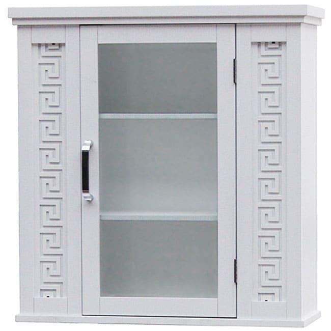 Greek Key Wall Cabinet