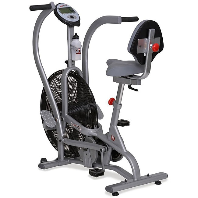 St Fitness Air Force Dual Action Exercise Bike Free