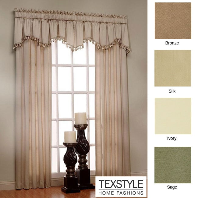 Curtains Ideas 54 inch long curtain panels : TexStyle Berkshire Pinch Pleat Thermal 54-inch Curtain Panel Pair ...