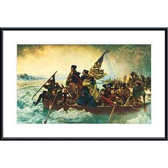 Leutze 'Washington Crossing the Delaware' Framed Art Print