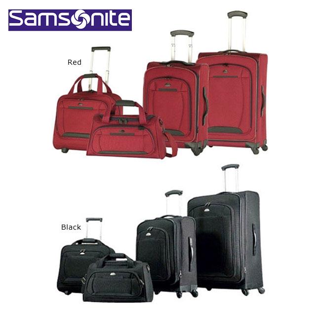 Samsonite Spinner 4-piece Lightweight Luggage Set - Free Shipping ...