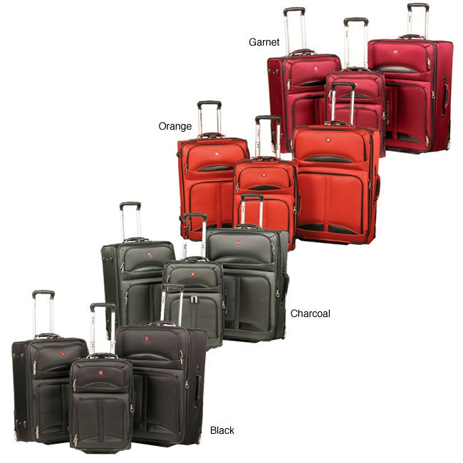 5e7501cfd Shop Wenger Swiss Gear 3-piece Lucerne Lite Luggage Set - Free Shipping  Today - Overstock - 4125966