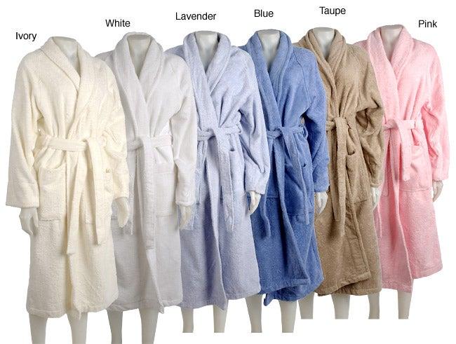 Extra Large Egyptian Cotton Long-length Terry Bath Robe