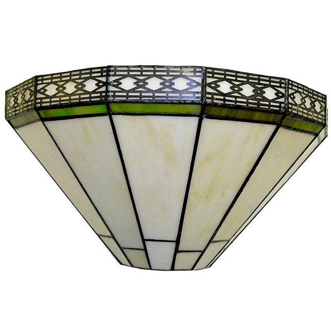 Tiffany-style 13-inch Ann Wall Lamp