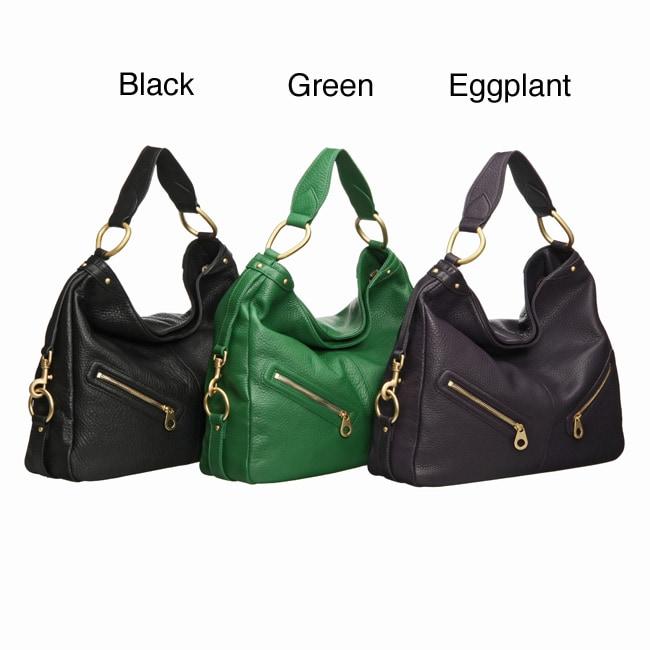 Presa 'Zuma' Extra-large Leather Hobo Bag