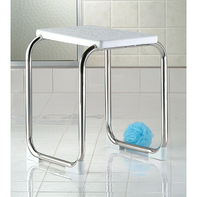 Shop Taymor Stainless Steel Modern Shower Seat Free