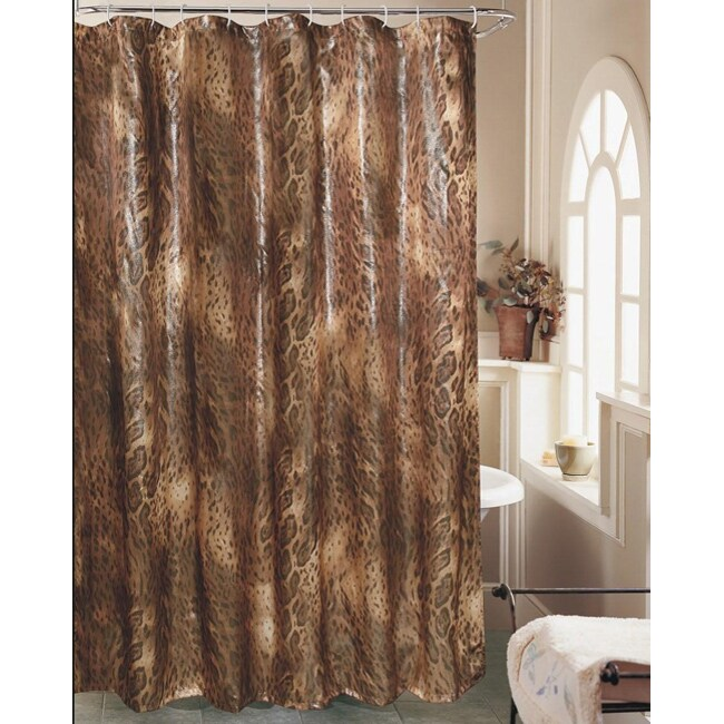 safari sparkle shower curtain free shipping on orders