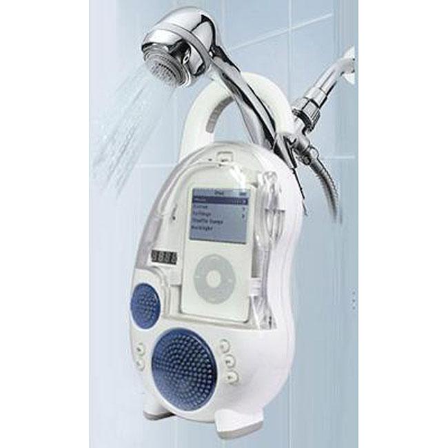 iPod/ MP3 Player Shower Speaker with AM/FM Radio