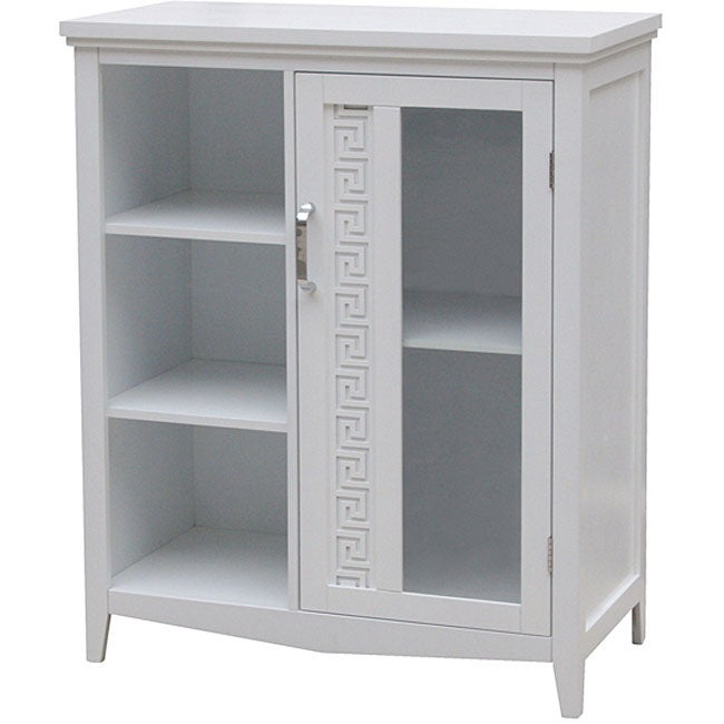 Greek Key 3-shelf Floor Cabinet