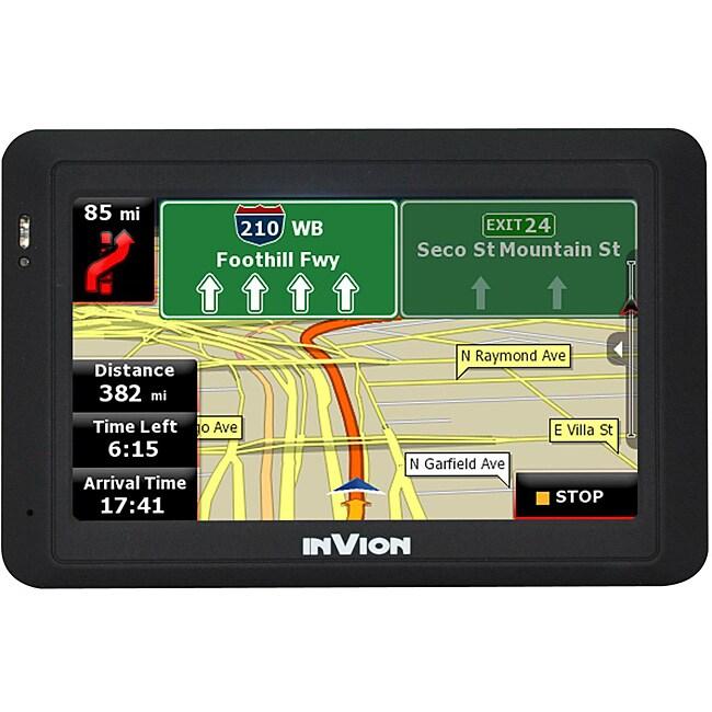 InVion GPS-4NAV-V1 Text-to-Speech 4.3-inch GPS Navigation
