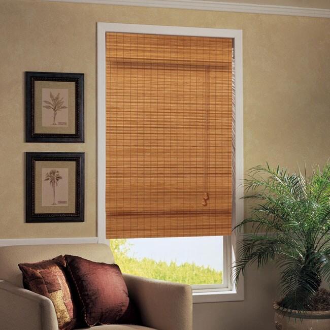Maui Roman Style Window Shade 31 In X 72