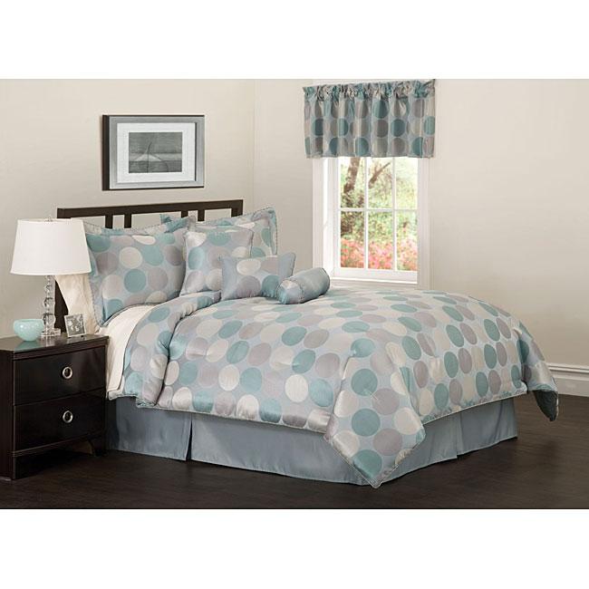 Downtown 7-piece Jacquard Comforter Set