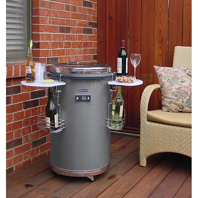 Soleus indoor outdoor party fridge 12140946 overstock com