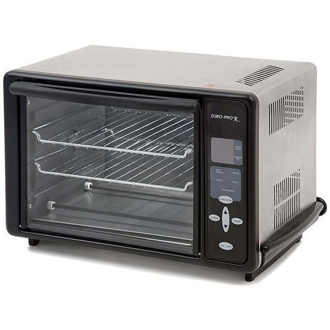 Thumbnail Euro Pro Bravetti Convection Rotisserie Toaster Oven Refurbished