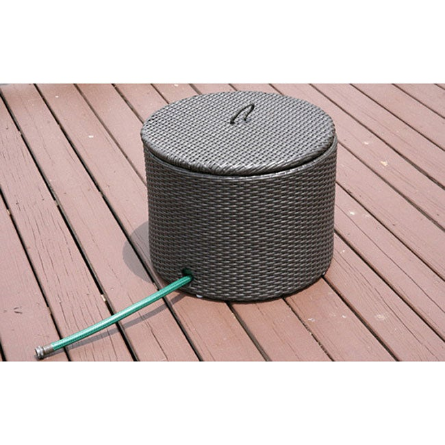 Savannah Outdoor All weather Resin Garden Hose Storage  : L12144598 from www.overstock.com size 650 x 650 jpeg 53kB