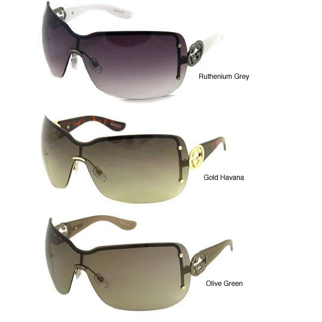 db19b2c3480 Shop Gucci GG 2797 Women s Shield Sunglasses - Free Shipping Today -  Overstock - 4141784