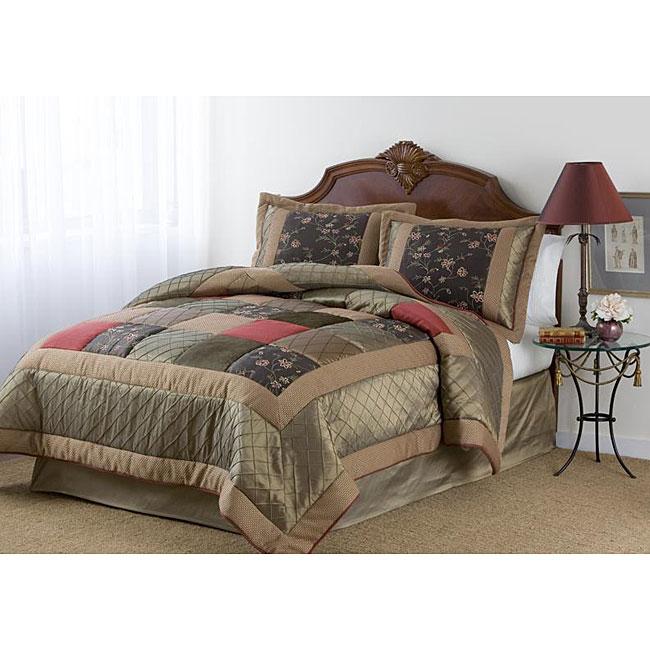 Bloomington Way Handcrafted 8-piece Comforter Set