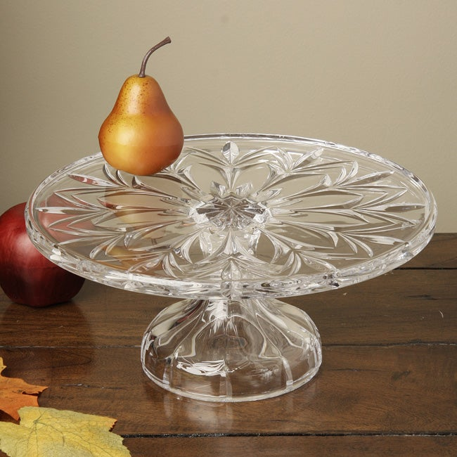 Did You Know About The 7 Celebration Cake At Olive Garden: Marquis By Waterford Canterbury Cake Plate