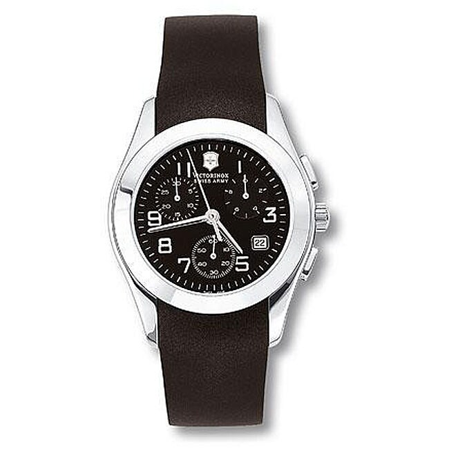 c93460f99ef Shop Swiss Army Men s Alliance Chronograph Rubber Strap Watch - Free  Shipping Today - Overstock - 4155030
