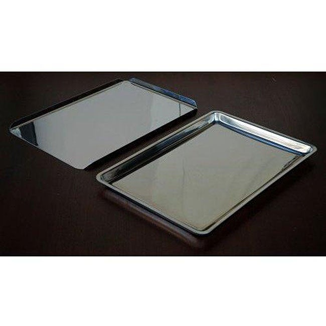 Stainless Steel Jelly Roll Pan and Cookie Sheet Set