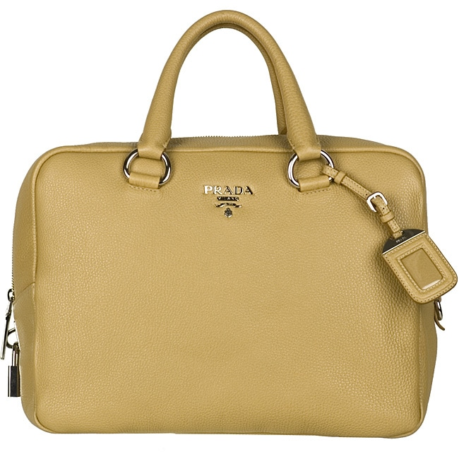 97c0b24e7518 ... inexpensive prada vitello daino camel bowler bag 1849c e563d
