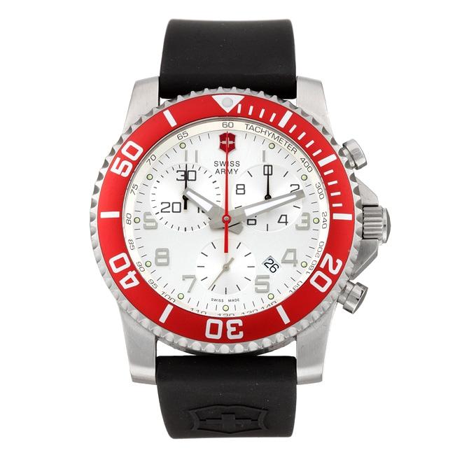 Swiss Army Men's Maverick II Chronograph Stainless Steel Watch