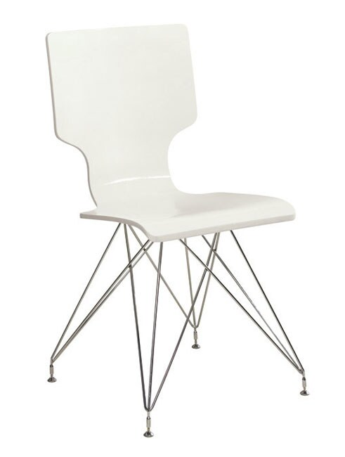 Rae White Dining Chairs (Set of 2)