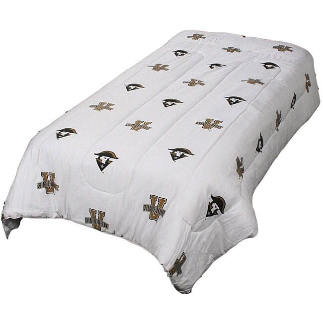 College Covers Vanderbilt White Twin-size Comforter Set