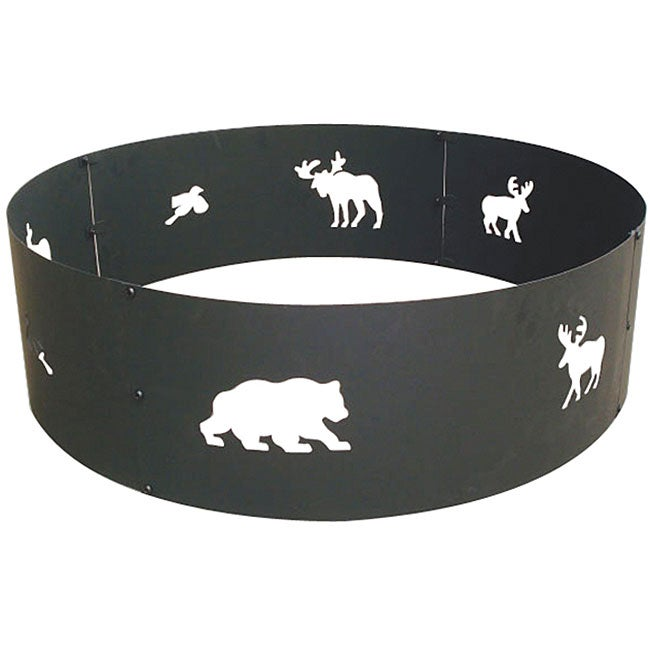 Steel 30-inch Campfire Ring
