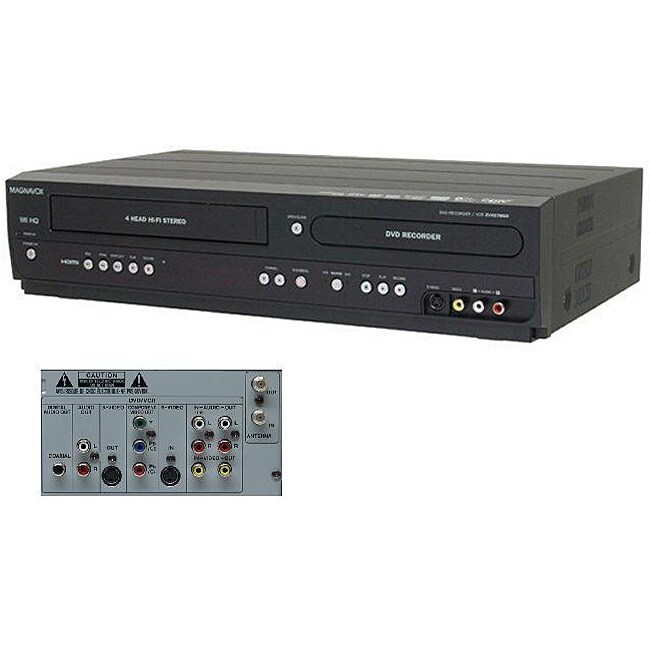Magnavox Zv457mg9 Digital Tuner Hdmi Dvd Vcr Recorder