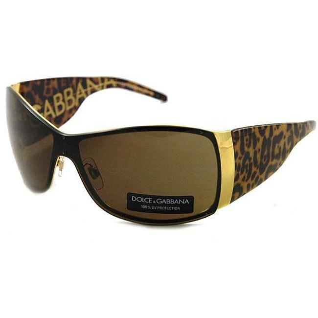 Dolce Amp Gabbana Dg 2019 Women S Shield Sunglasses Free