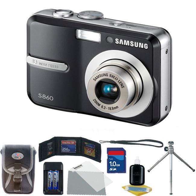 shop samsung s860 8 1mp compact digital camera kit refurbished rh overstock com samsung camera s860 user manual Samsung S860 Camera
